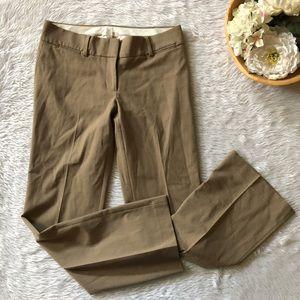 Loft Tan Wide Leg Trouser